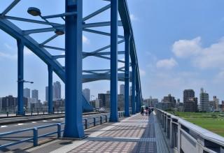 新丸子から多摩川まで歩いてみた